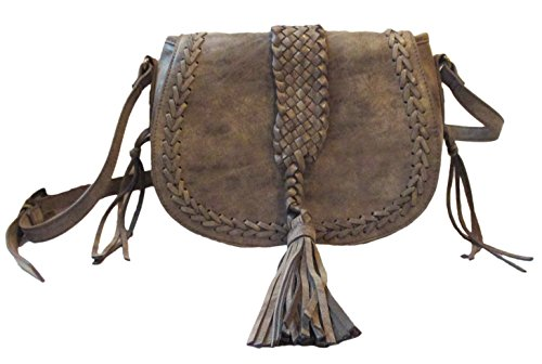 Steve Madden Women's Bhrmonyy Brown Crossbody Shoulder Handbag