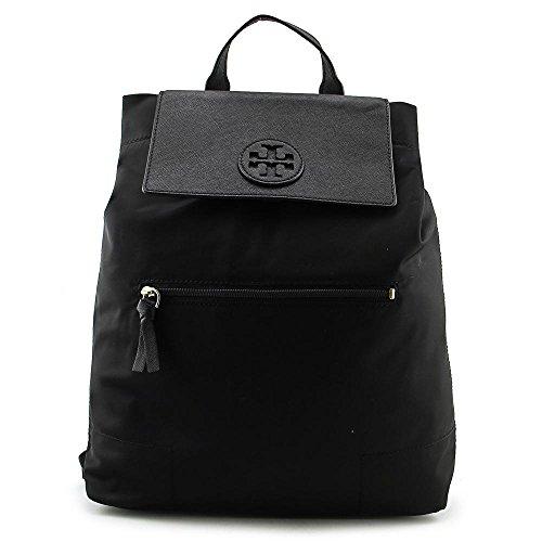 Tory Burch Ella Packable Backpack in Black