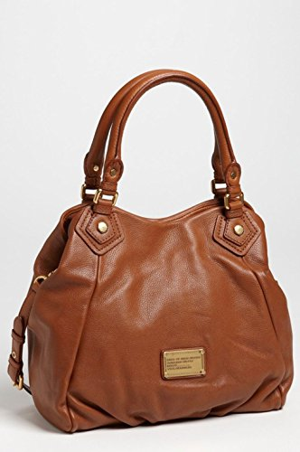 Marc by Marc Jacobs New Q Fran Maple Tan Leather Satchel Tote