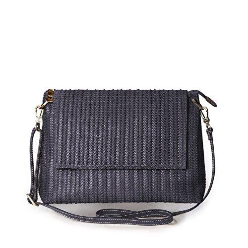 Eric Javits Women's Luxury Kiki Handbag Midnight
