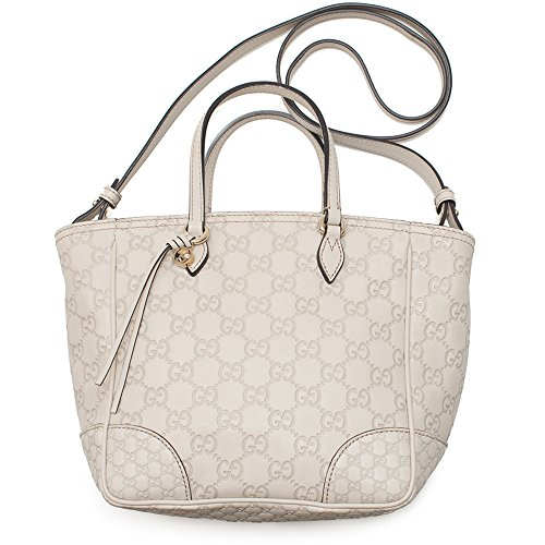 Gucci GG Mystic White Small Top Handle Satchel Leather Bag New