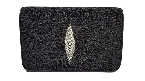 Stingray Leather Clutch Bag w/ Removable Strap