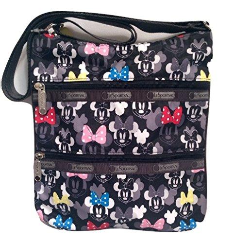LeSportsac Kylie Crossbody Bag Disney Minnie Rocks The Dot