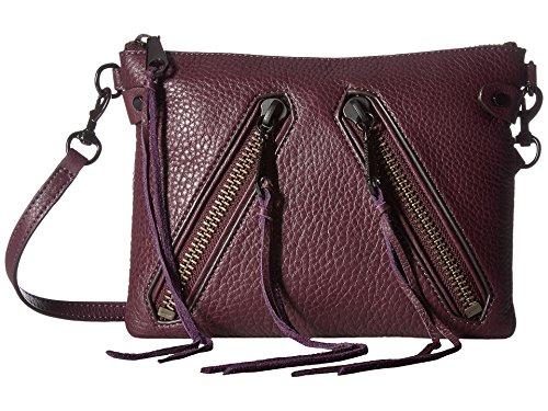 Rebecca Minkoff Moto Jon Crossbody Dark Cherry Cross Body Handbags