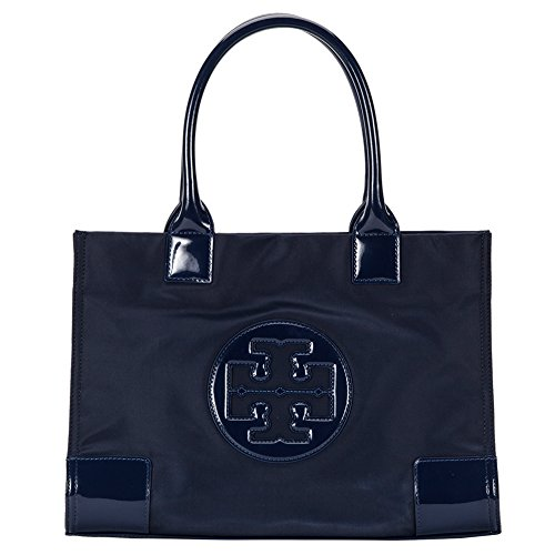 Tory Burch Nylon Mini Ella Tote Bag 50009835-486 French Navy