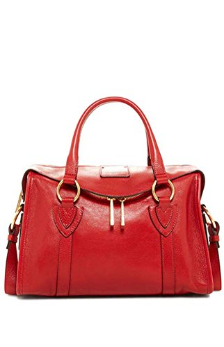 Marc Jacobs Wellington Small Fulton Leather Satchel