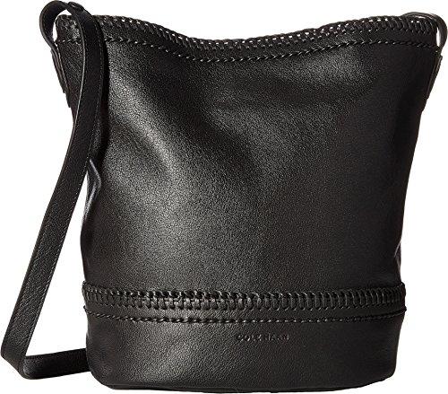 Cole Haan Women's Shelly Bucket Hobo Bag Black Handbag