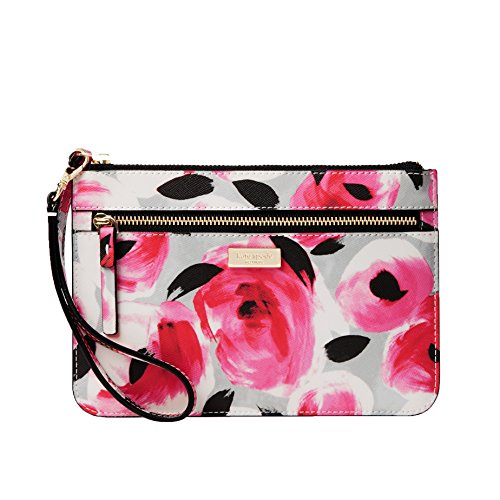 Kate Spade Shore Street Floral Tinie Wristlet, Rose Bed