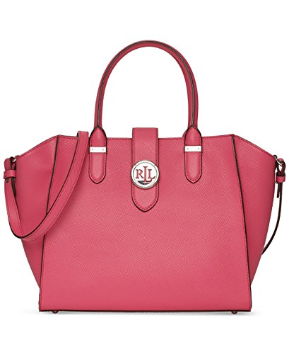 LAUREN Ralph Lauren Women's Charleston Shopper Coral none none