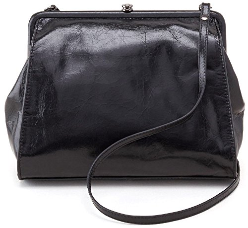 Hobo Handbags Vintage Leather Mindi Crossbody – Black