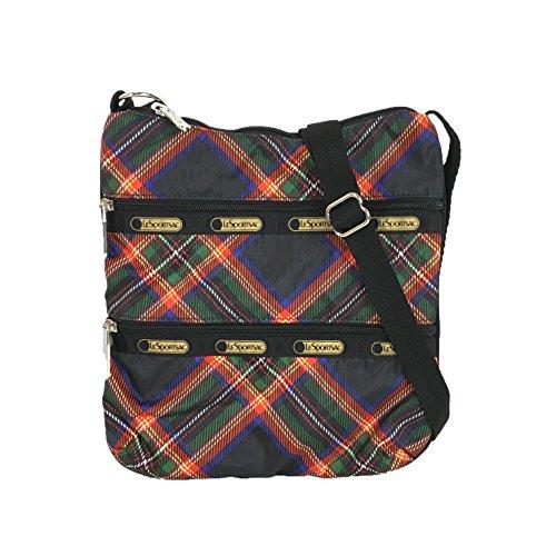 LeSportsac Kylie Crossbody Bag, Cozy Plaid Black