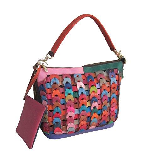 Amerileather Dixie Leather Handbag (#1791-9)