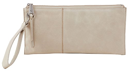 Hobo Handbags Vintage Leather Vida Clutch – Linen