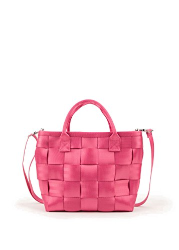 Harveys Seatbelt Bags Sweet Pea Crossbody Tote, Pink