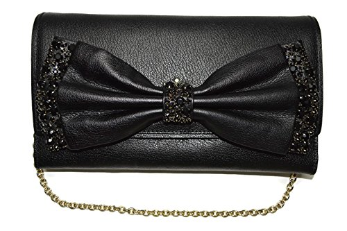 Kate Spade Shea Manor Place Black Clutch