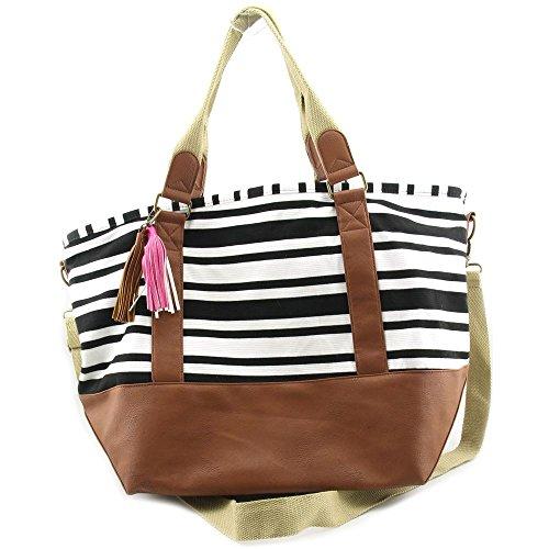 Madden Girl Weekender Women Multi Color Duffel Bag