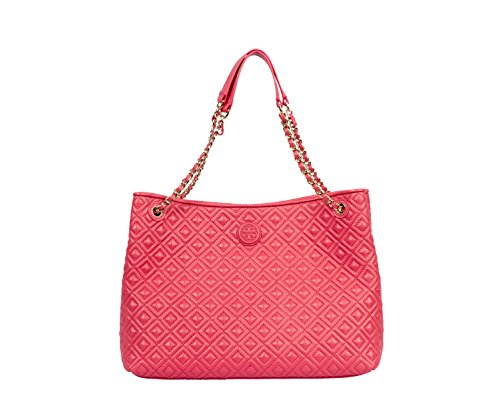 Tory Burch Marion Quilted Center Zip Tote