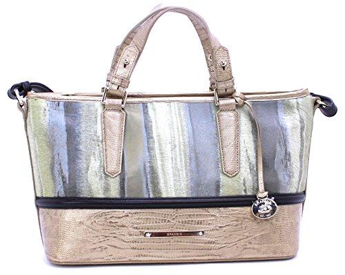 Brahmin Mini Asher Gold 00026 Genuine Leather