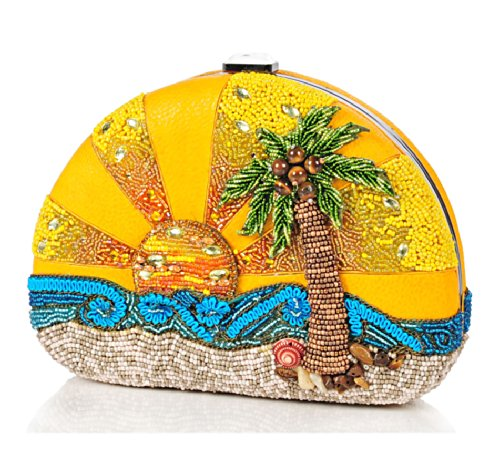 Mary Frances Here Comes The Sun Handbag