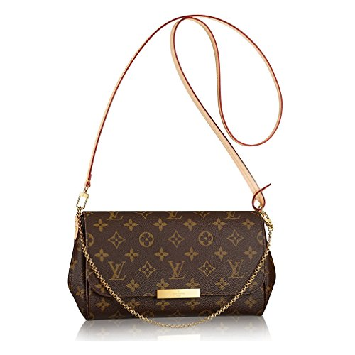 Authentic Louis Vuitton Favorite MM Monogram Canvas Cluth Bag Handbag Article: M40718 Made in France