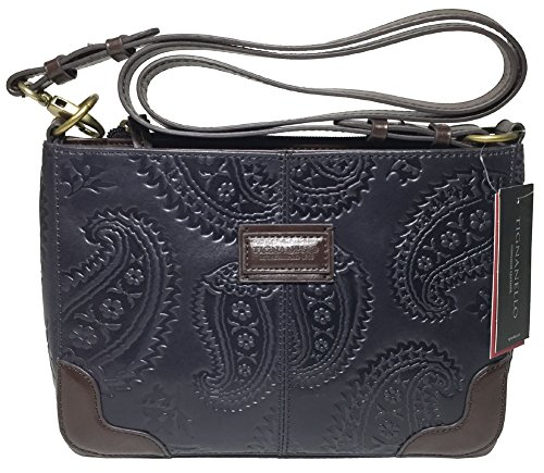 Tignanello Western Cross Body, Navy/Dark Brown, T58307