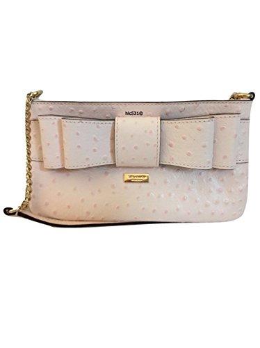 Kate Spade New York Presley Charm City Ostrich Handbag Ballet Slipper