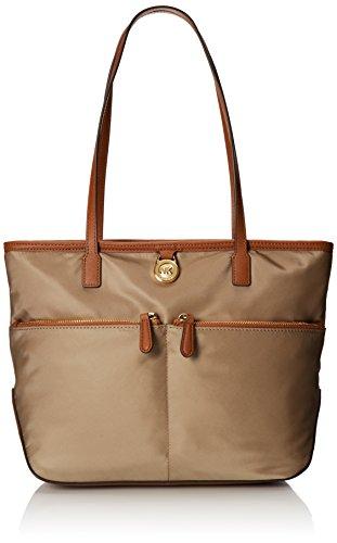 Michael Kors Kempton Dusk Medium Pocket Tote Leather Hand Bag 30S5GKPT1C NEW