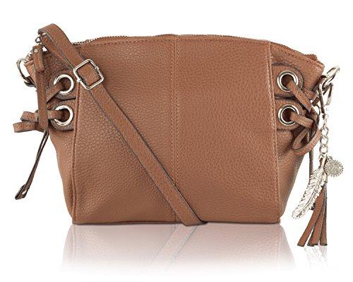 Jessica Simpson Juliette Crossbody Bag – Chestnut
