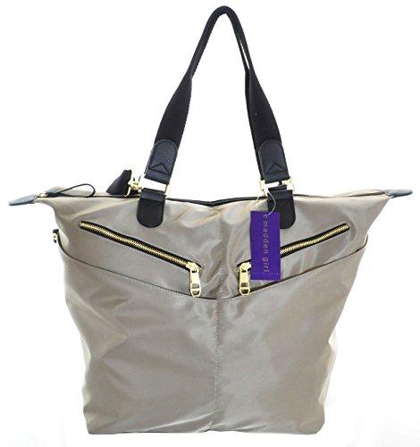 Madden Girls MGTWINN Weekender Tote Bag, Natural
