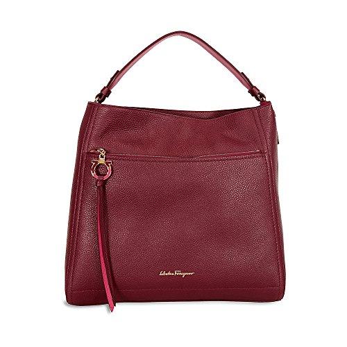 Ferragamo Ally Large Leather Hobo Bag – Opera