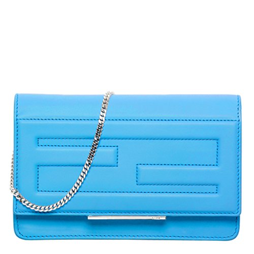 Fendi Women's Tube Clutch Blue