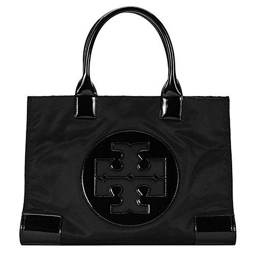 Tory Burch Nylon Ella Tote Bag 50009811-009 Black/Black