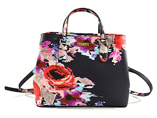 Kate Spade Evangelie Laurel Way Printed Shoulder Bag Purse Handbag, Blurry Floral