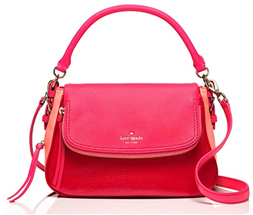 kate spade new york Cobble Hill Deva Leather Crossbody bag, Pink / Bonnet