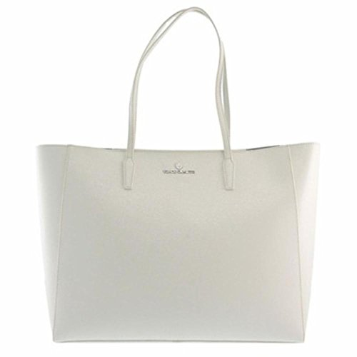 Vince Camuto Lou Textured Leather Tote Snow White