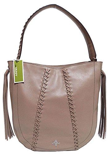 orYANY Chelsea Hobo Bag W/Fringe, Mocha