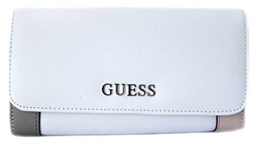 GUESS Women's Huntley SLG Slim Clutch Wallet, Cloud Multi