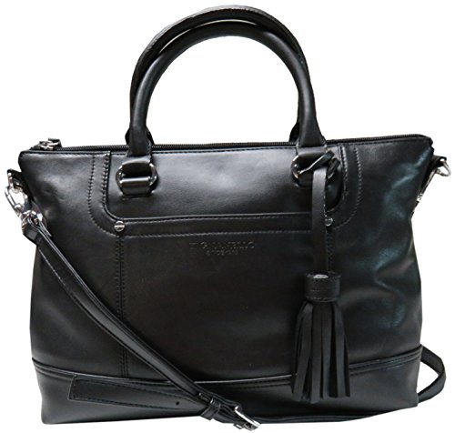 Tignanello Smooth Operator Convertible Satchel (Black)