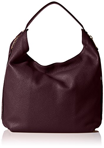 Rebecca Minkoff Bryn Double Zip Hobo, Dark Cherry