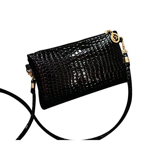 Zinat Women's Real Leather Cross Body Bag Travel Wallet Satchel Pouch