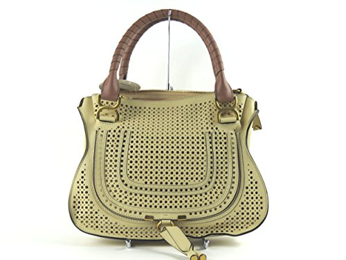 Chloé Marcie 3S0860-906 Medium Perforated Satchel