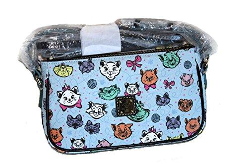 Disney Cats Leather Pouchette by Dooney & Bourke