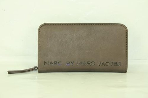 Marc By Marc Jacobs Zip Around Wallet Warm Iron