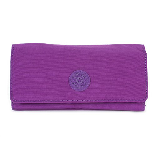 Kipling New Teddi Large Wallet, Tile Purple, One Size