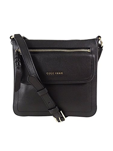 Cole Haan Womens Antonia Crossbody (Black)