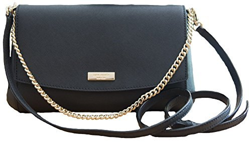 Kate Spade New York Greer Laurel Way Crossbody Handbag Clutch, Black