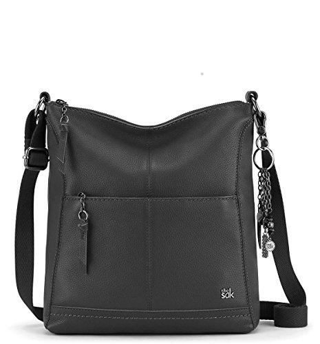 The Sak Genuine Leather Tassel Black