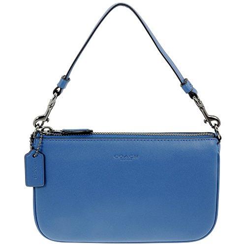 Coach Nolita Small Denim Glovetanned Leather Ladies Wristlet Handbag 54750DKDEN
