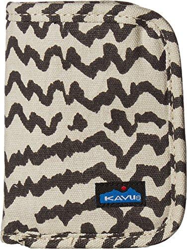 KAVU Women's Zippy Wallet Natural Beats Handbag