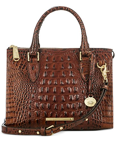 Brahmin Melbourne Anywhere Convertible Satchel Pecan
